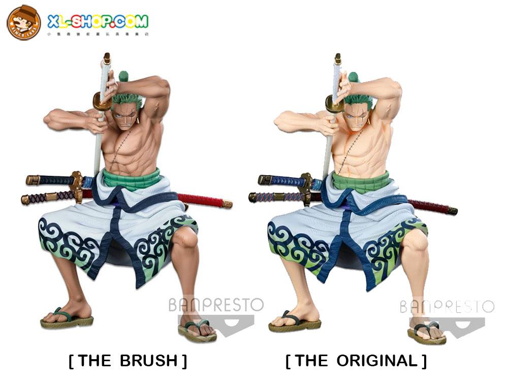 Banpresto One Piece World Figure Colosseum 3 Super Master Stars Piece Roronoa Zoro The Brush The Original Hk Ver Ship May 2021