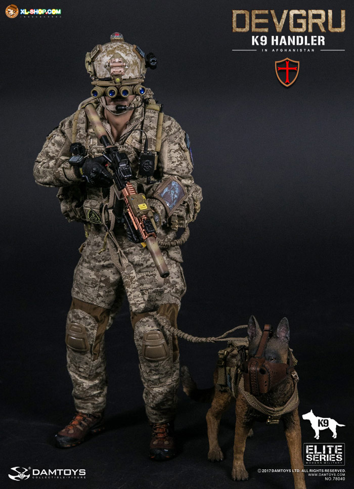 DAMTOYS - 1/6 78040 - Devgru K9-handler in Afghanistan