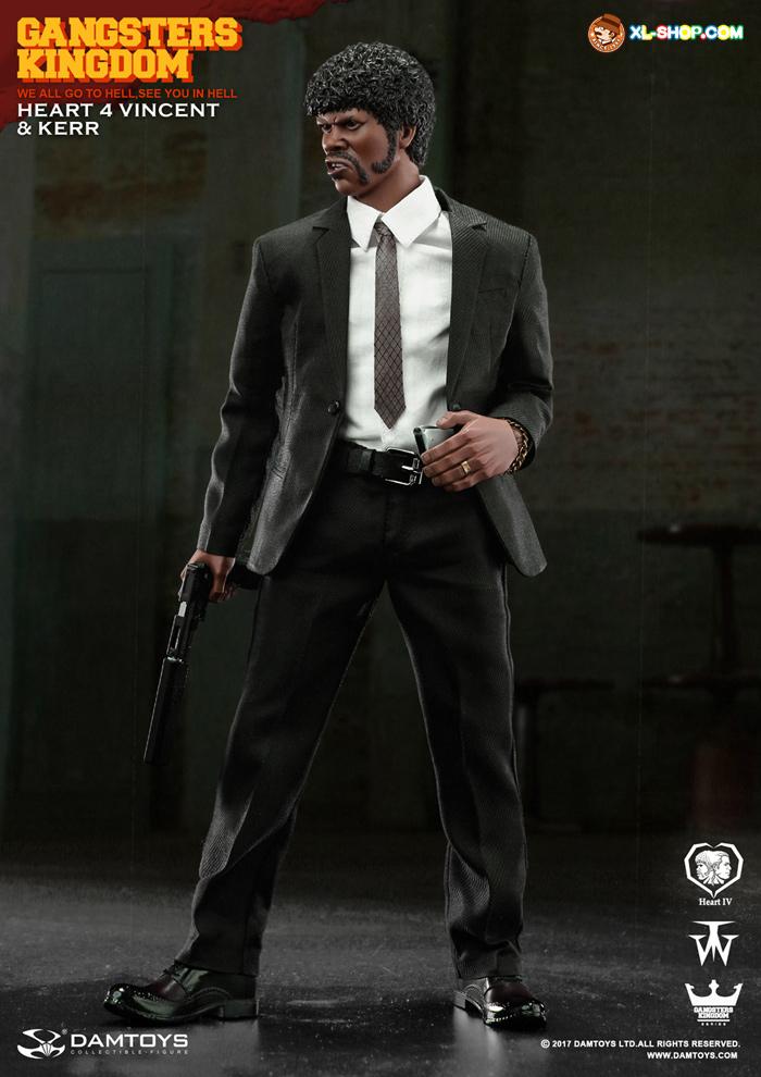 1//6 scale DAMTOYS GK015 Gangsters Kingdom Heart 4 suit jacket #1