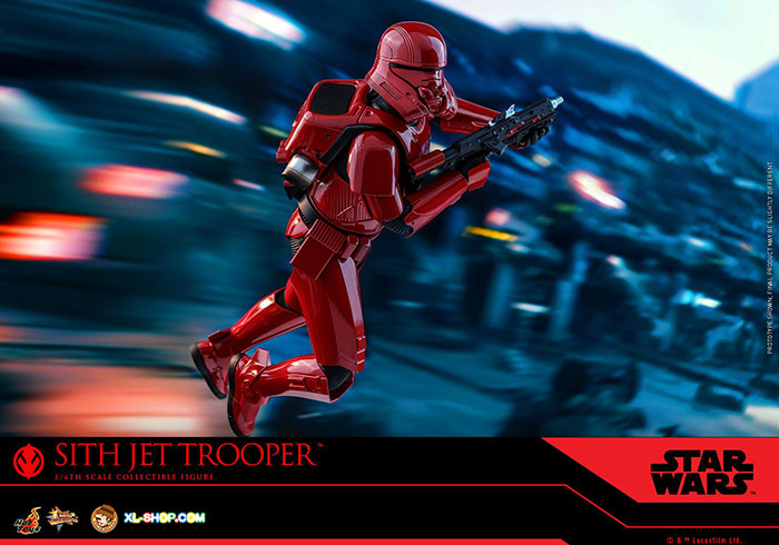 Hot Toys Mms562 Star Wars The Rise Of Skywalker 1 6th Scale Sith Jet Trooper Collectible Figure Ship Q4 2020 Q1 2021