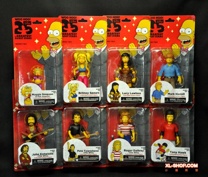 NECA I Simpson 25TH ANNIVERSARIO SERIE 2 MARK HAMILL Action Figure
